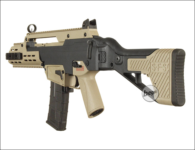 ICS G33 / ICS-235 S-AEG in bicolor (only 18yrs +)