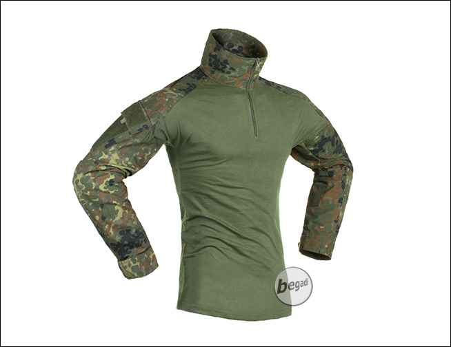 Outdoorküche Deko Jersey : Invader gear combat shirt flecktarn