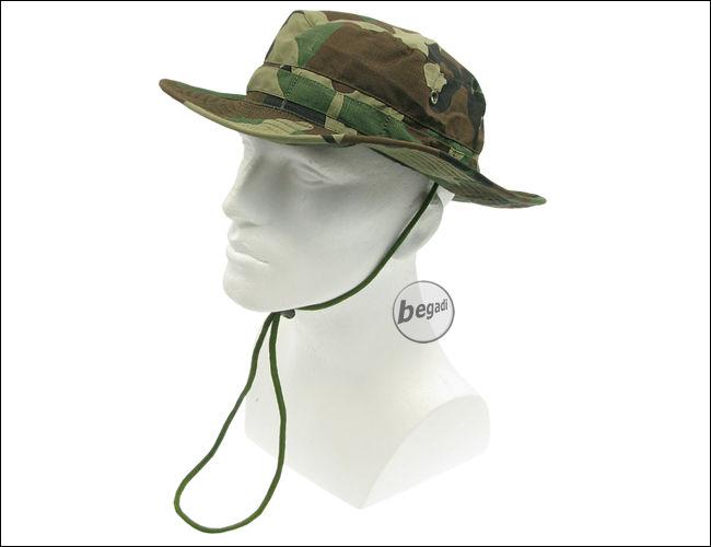 The circular brim provides camouflage 1c9f282e999