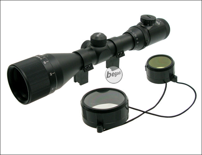 Walther telescopic sight ci with illuminated reticle