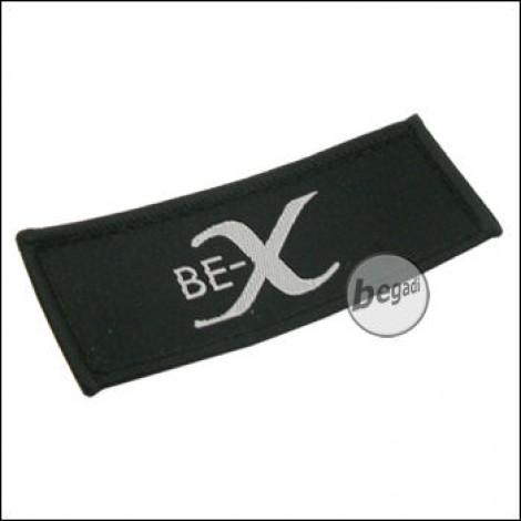 """Aufnäher """"BE-X"""", neue Version - schwarz"""