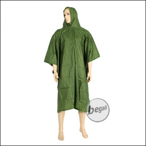 BE-X Poncho, Ultralight, SilNylon, Version 2.0 - long