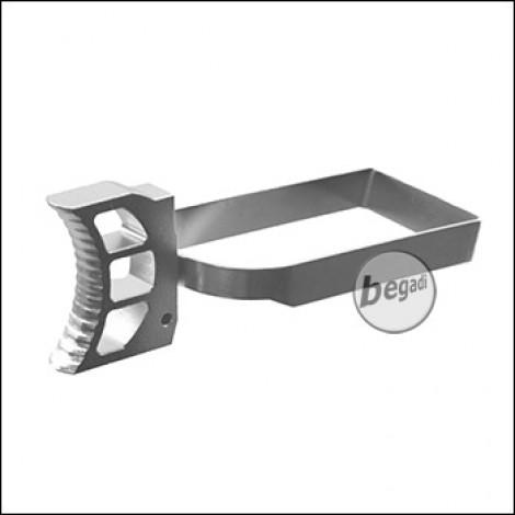Begadi Custom Trigger #3 inkl. Trigger Bar, für Hi-Capa/1911 -silber-