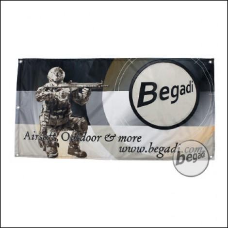 """Begadi Fahne """"Airsoft - Motiv 2"""", Fotodruck, 60x120cm, mit Ösen"""