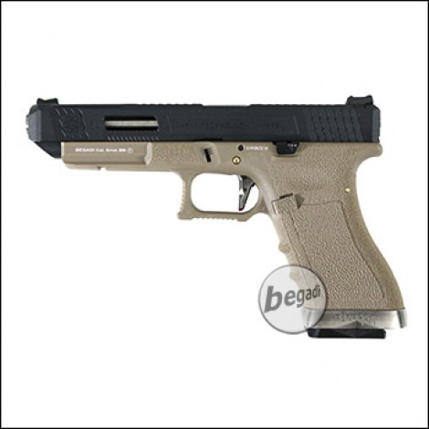 WE G-Force 34 GBB -TAN / schwarz- (frei ab 18 J.)