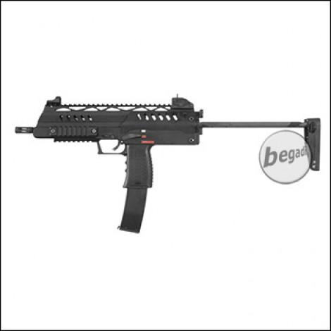 WE SMG-8 GBB, schwarz (frei ab 18 J.)