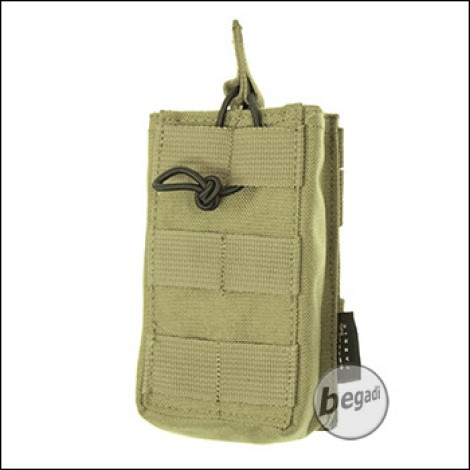 BE-X Open Mag Pouch, single, für G36 - Coyote Tan / MJK