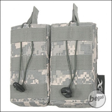 BE-X Open Mag Pouch, double, für G36 - UCP (ACU)