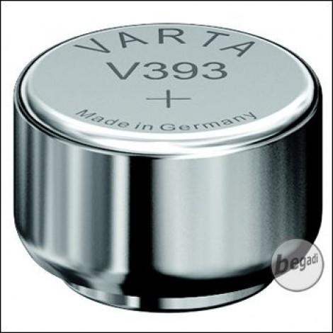 VARTA Knopfzelle 393 High Drain / AG5 (1,55V - 65mAh - Silber)