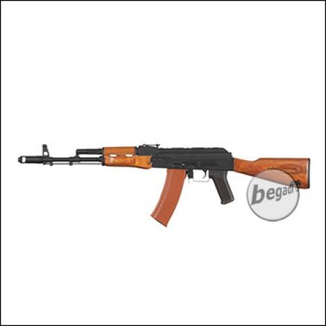 "Begadi AK 74 Sport ""Gen.2"" S-AEG mit Echtholz Festschaft (frei ab 18 J.)"
