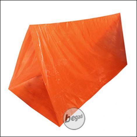 Fibega Survivalzelt, orange