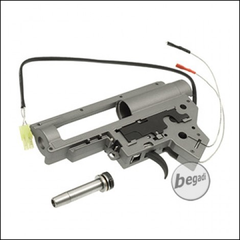 BEGADI V2 Quick Spring Release Gearbox Shell Set -mit Microswitch-