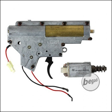 CYMA V2 MP5 Metall Gearbox mit Motor [semi only] (frei ab 18 J.)