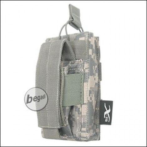"""BE-X Open Type  + Pistol Pouch """"M4 / M16"""" - UCP (ACU)"""