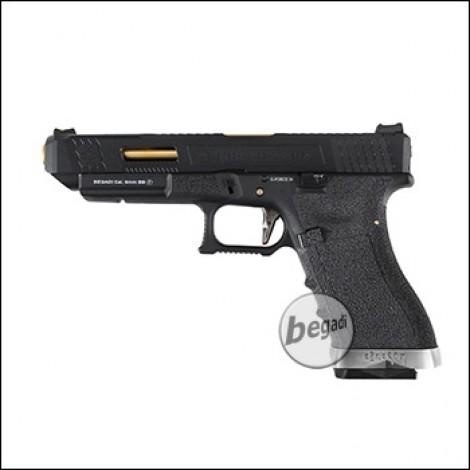WE G-Force 34 GBB -komplett schwarz- (frei ab 18 J.)