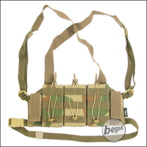 """BE-X Mikro Chest Rig """"M4 Edition"""" -V2, Rip Stop- rooivalk"""