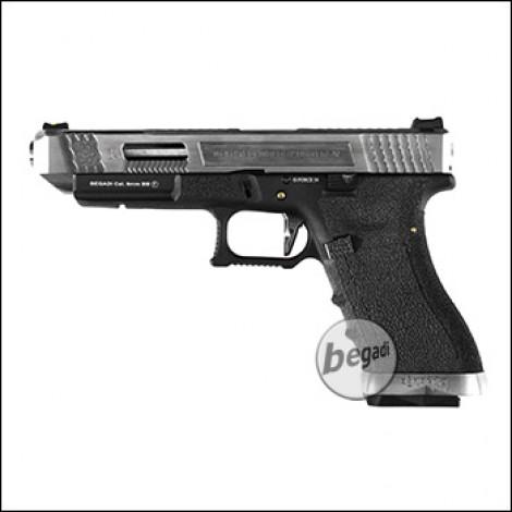 WE G-Force 34 GBB -schwarz / silber- (frei ab 18 J.)