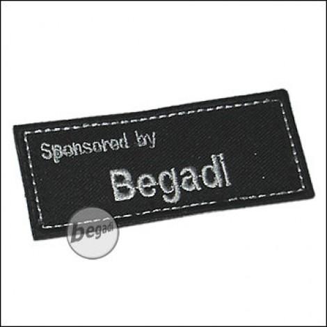 Aufnäher SPONSORED BY BEGADI - ohne Klett