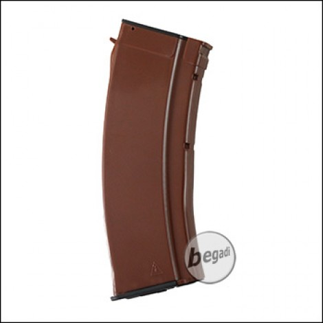 Battleaxe AK74  LowCap Magazin (70 BBs) -orange-