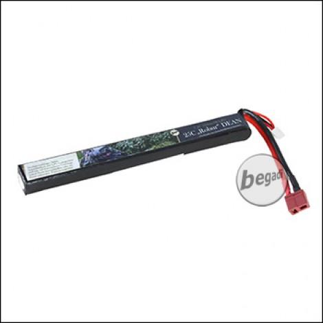 """Begadi LiPo Akku 7,4V 25C Single Stick """"Robur 7.4/165/1300"""" mit Dean"""