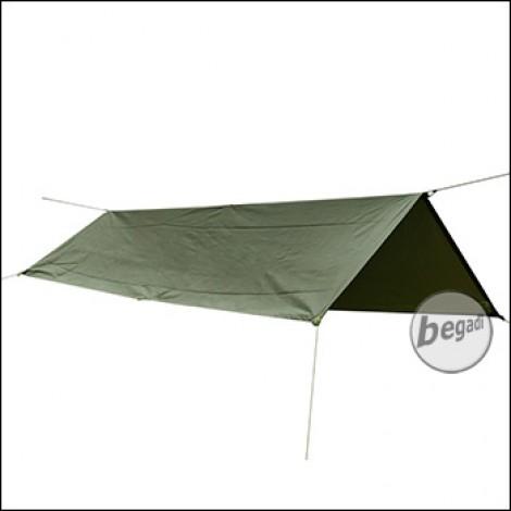 BE-X Rescue Tarp, Reflective Edition, 145x250cm - olive