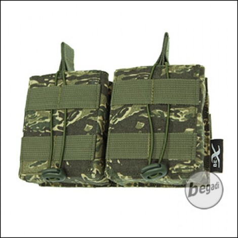 BE-X Open Mag Pouch, double, für HK417 - rooikat