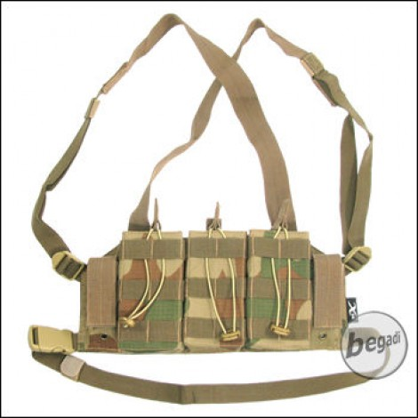 """BE-X Mikro Chest Rig """"G36 Edition"""" -V2, Rip Stop- rooivalk"""