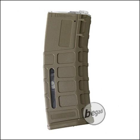Battleaxe PMAG Highcap Magazin (350 BBs) -TAN-