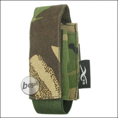 "BE-X Tasche ""40mm Shell"", single - woodland DPM"