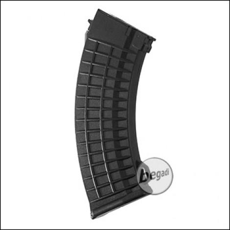 "Battleaxe AK74 MidCap Magazin ""Waffle"" Type (110 BBs)  -schwarz-"