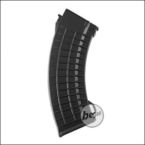 """Battleaxe AK74 HighCap Magazin """"Waffle"""" Type (500 BBs)  -schwarz-"""