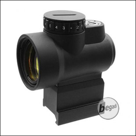Begadi 1x25 Short Dot - mit QD Riser Mount - schwarz