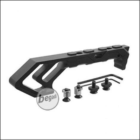 Begadi Ergo Tac Griff -MK3-, Keymod & MLOK Version - schwarz