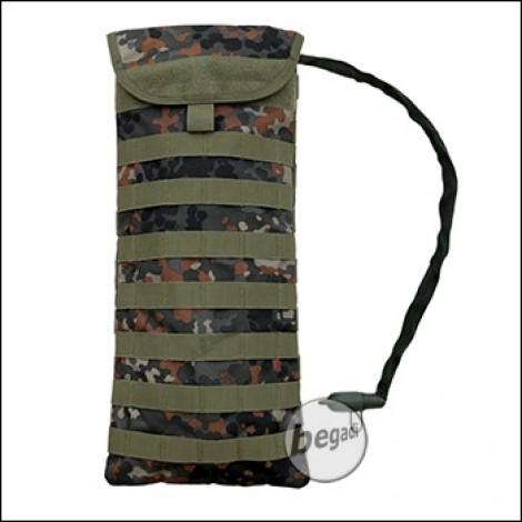 Begadi Basic Trinksystem / Hydration Pack mit MOLLE Rucksack - flecktarn
