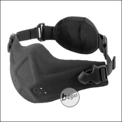 """Begadi Basic Schutzmaske """"Ultralight"""", vorgeformt - schwarz"""
