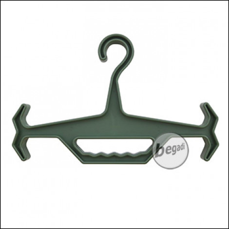 "PHX Schwerlast Kleiderbügel / Armor Hanger ""Classic"", aus nylonverstärktem Kunststoff -olive-"