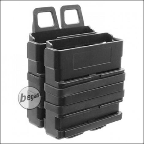 BEGADI Basic Hardshell Magazintaschen / Mag Pouch Bundle 7.62mm [SR25, M14, MK17 etc.] -schwarz-