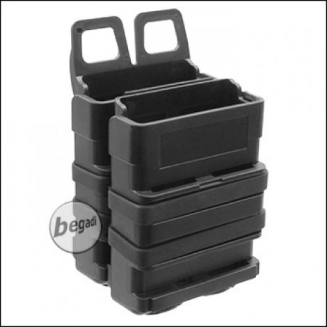 BEGADI Basic Hardshell Magazintaschen / Mag Pouch Bundle 5.56mm [M4 / M16 etc.] -schwarz-