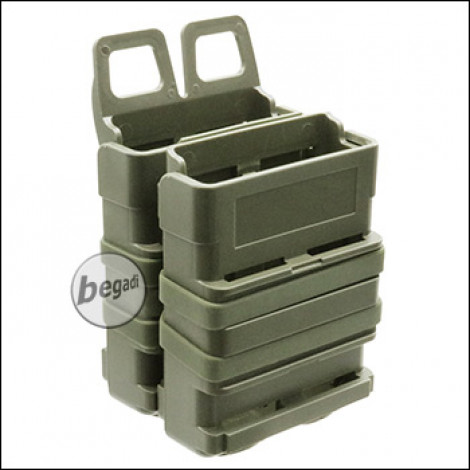 BEGADI Basic Hardshell Magazintaschen / Mag Pouch Bundle 5.56mm [M4 / M16 etc.] -olive-