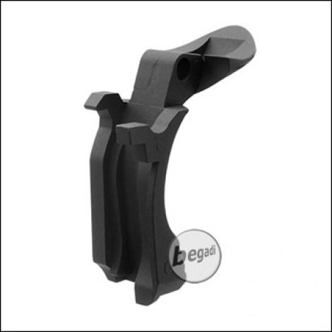 Begadi HiCapa 5.1 Stahl Grip Safety - schwarz
