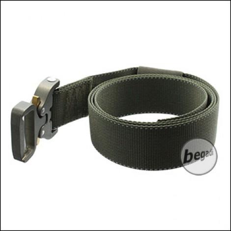BE-X FronTier One Riggers Belt, mit Cobra Buckle - olive (Gen. 2)