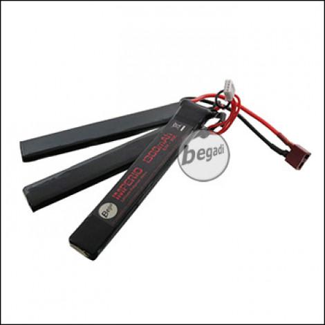 """Begadi """"IMPERIO"""" LiPo Akku 11,1V 1300mAh 30C Triple Stick mit Dean"""