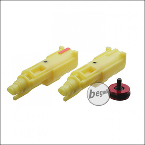 GBL Nozzle Set inkl. CNC Piston Head für WE G17 / G-Force sowie KJW KP-13 (Gas & CO2)