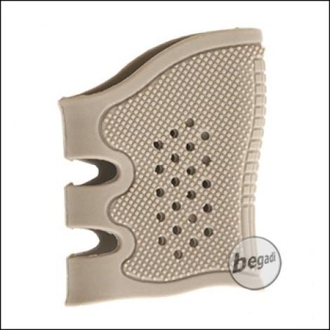 Begadi Ergo Pistol Rubber Grip, Advanced Series -TAN-