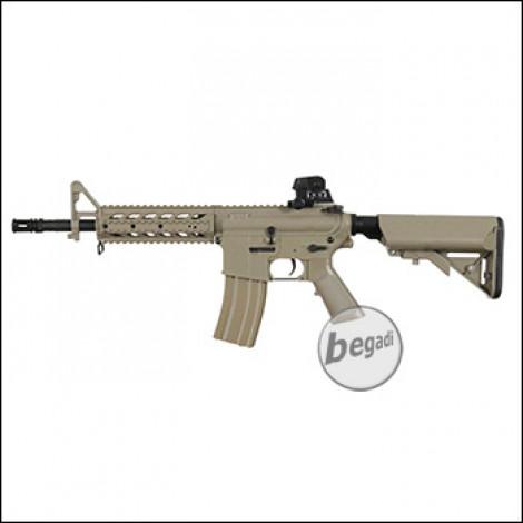 """Begadi M4 ECO """"Mark 1 ABS"""" S-AEG mit Begadi CORE EFCS / Mosfet -TAN- (frei ab 18 J.)"""