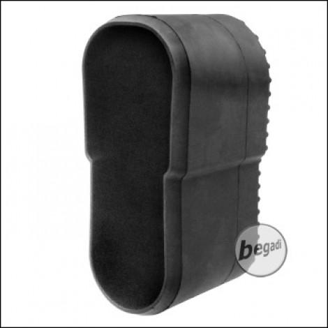 Erweiterte Schaftkappe für Begadi Sport PD9 (Akkuerweiterung aus Gummi)
