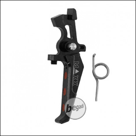"Maxx Model Advanced CNC Speed Trigger -Gen.2- ""Style E"" -schwarz-"