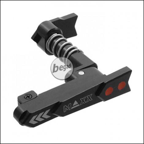 Maxx Model CNC Ambidex Magcatch / Magazinhalter (beidseitig) für M4 / M16 Modelle -Style A- (schwarz)