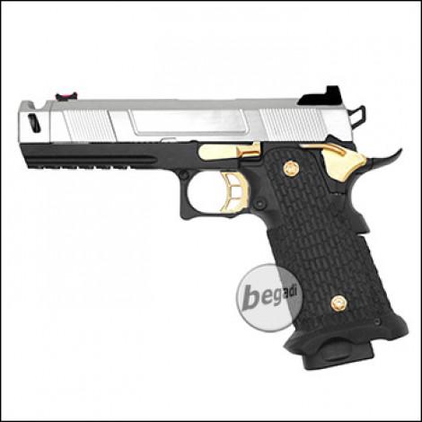 Army Armament R501 HiCapa GBB -Chrom / Gold Edition- (frei ab 18 J.)