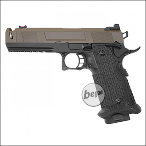 Army Armament R501 HiCapa GBB -Brown Slide Edition- (frei ab 18 J.)